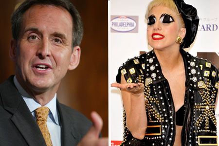 Tim Pawlenty loves Lady Gaga