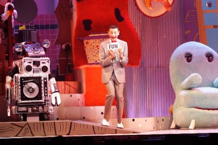Pee-wee Herman hits comic-con 2011