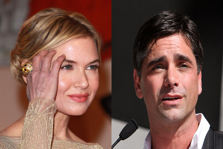 Renee Zellweger and John Stamos share Disney date