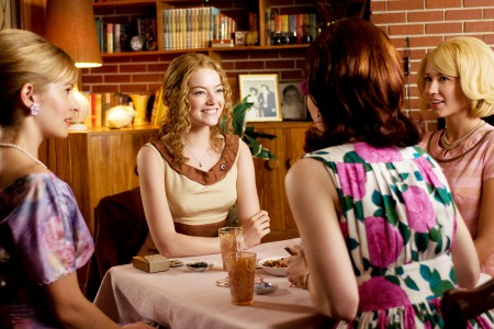 Emma Stone gets serious in The Help