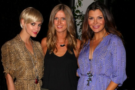 Ashlee Simpson, Nicky Hilton, Ali Landry