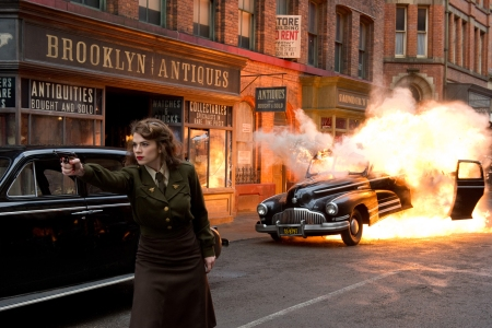 Hayley Atwell in Captain America: The First Avenger