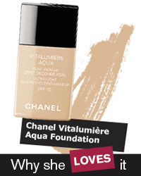 chanel vitalumiere aqua foundation in Hungary