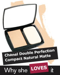 Chanel Double Perfection Compact Natural Matte Powder Makeup