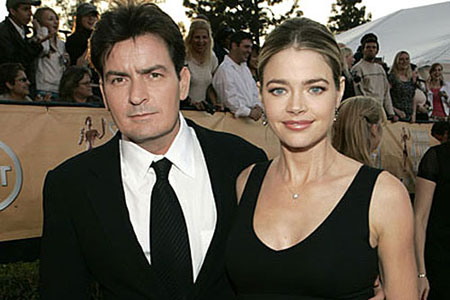 Denise Richards talks about Charlie Sheen