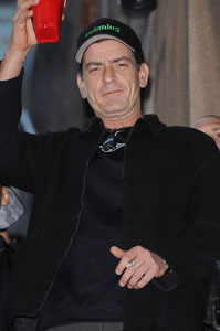 Charlie Sheen's big night