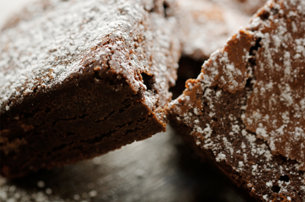 Gluten-free Friday: Ghirardelli fudgy brownies