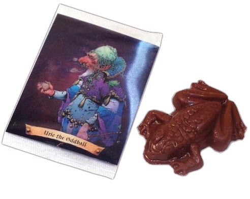 chocolate frogs candy inspired by harry potter films