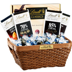 Dark Chocolate Lovers Gift Basket
