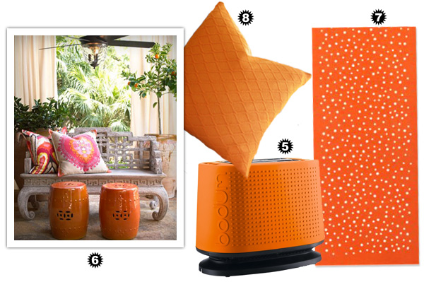 Decorating Diva - Orange Accessories