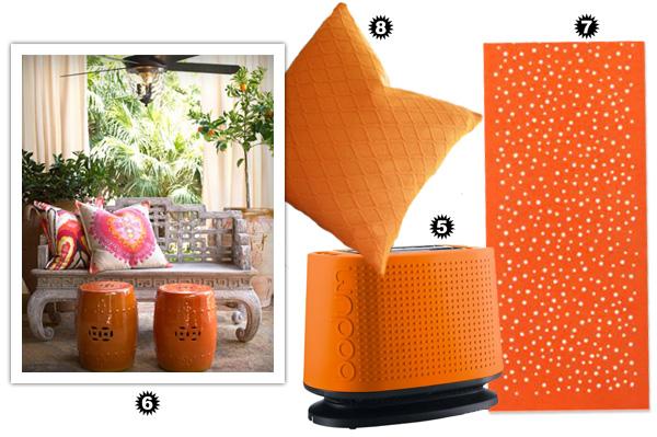 Decorating Diva - Orange Accessories