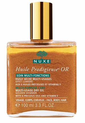 Nuxe Paris Dry Oil Golden Shimmer
