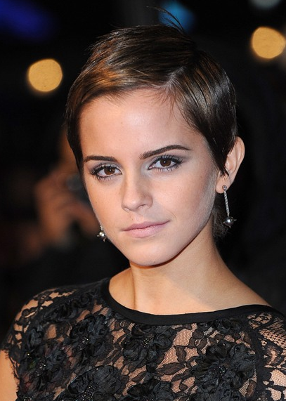 Emma Watson at the premiere of Harry Potter and the Deathly Hallows Part I