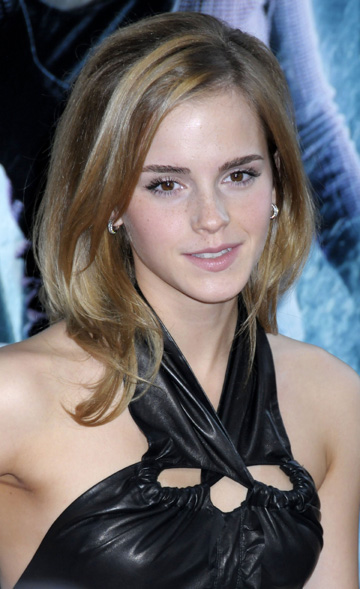Emma Watson at the premiere of Harry Potter and the Half Blood Prince