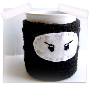 Ninja coffee cozy