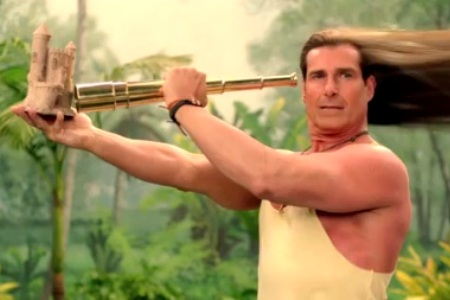 Fabio Old Spice commercial
