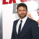 Gerard Butler at premiere