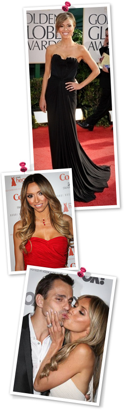 Giuliana Ranic's red carpet fashion and style trends