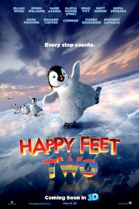 Happy Feet Movie Poster and Trailer