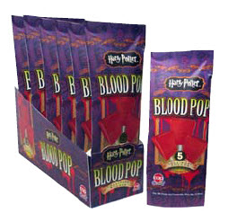 Harry Potter blood pops