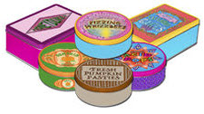 Harry Potter candy tins