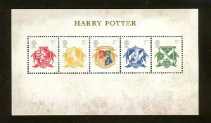 Harry Potter UK Stamps