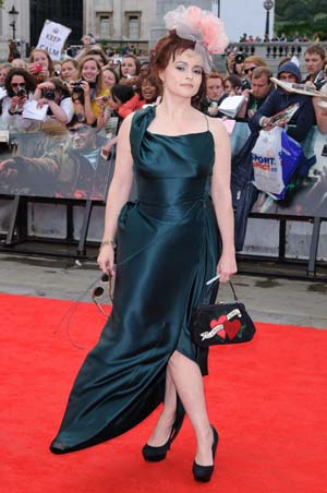 Helena Bonham Carter at the Harry Potter and the Deathly Hallows premiere
