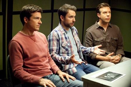 Jason Bateman, Charlie Day and Jason Sudeikis in Horrible Bosses