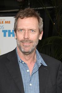 Hugh Laurie wears guyliner?