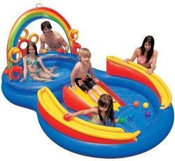 Intex Rainbow Ring Playcenter