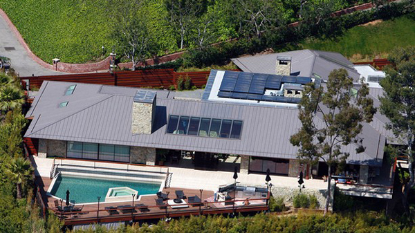 Jen Aniston' Beverly Hills home