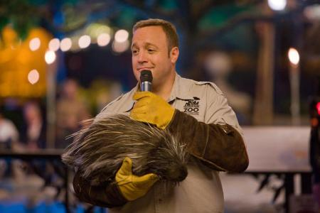 Kevin James is the Zookeeper