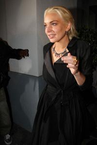 Lindsay Lohan swan queen?