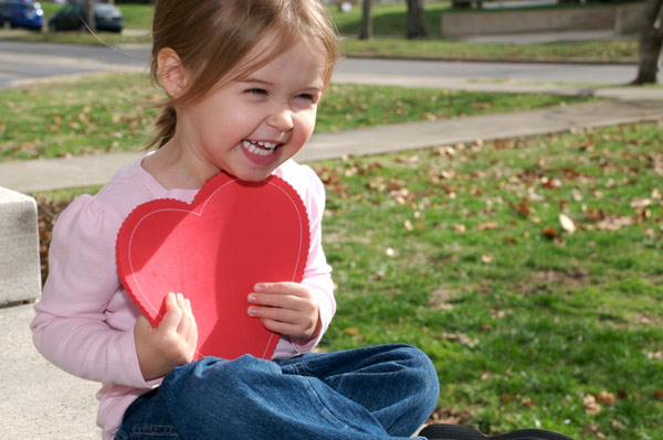 Ten ways to show love for your child this Valentine's Day