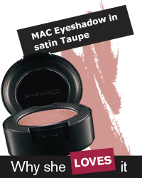 MAC Eyeshadow in satin Taupe
