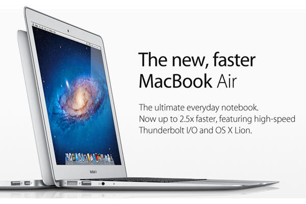 Apple launches new MacBook Air