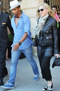 Madonna dating young French dancer