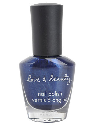 Midnight dark blue nailpolish forever 21