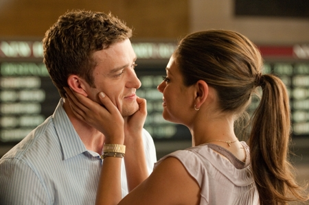 Justin Timberlake and Mila Kunis in Friends with Benefits