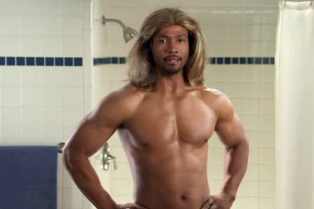 Old Spice guy -- Isaiah Mustafa