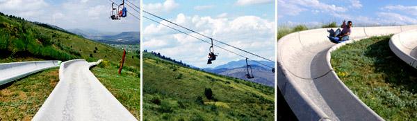 Heritage alpine slide