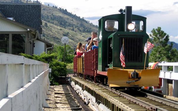 Steam railroad