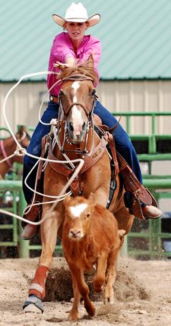 girl in rodeo