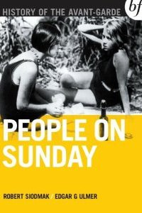 1930s classic People on Sunday out on DVD/BluRay