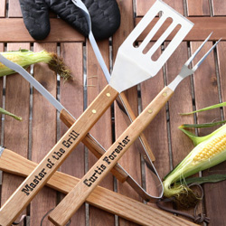 Personalized BBQ Utensils