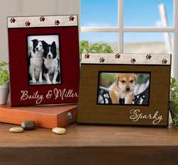 Man's Best Friend Personalized Frame