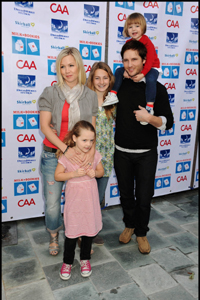 Peter Facinelli, Jennie Garth and kids