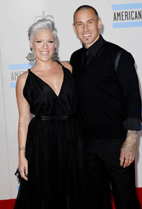 Pink Carey hart