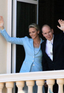 Another royal wedding: Prince Albert marries