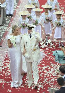 Prince Albert wedding reception